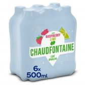 Chaudfontaine Fusion raspberry and lime