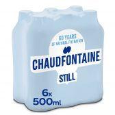 Chaudfontaine Spring water no sparkling