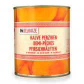 Delhaize Half peaches in grape juice