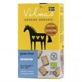 Vilmas Organic sesame crackers