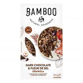 Bamboo Goodness Granola with dark chocolate