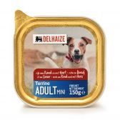 Delhaize Beef and heart terrine dog food