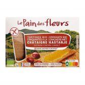 Le Pain des Fleurs Organic chestnut cracker