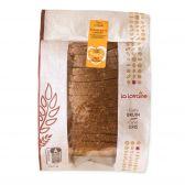 La Lorraine Bruin vierkant brood klein (voor uw eigen risico, geen restitutie mogelijk)