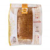 La Lorraine Wit vierkant brood (voor uw eigen risico, geen restitutie mogelijk)