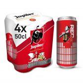 Jupiler Blond pils bier 4-pack