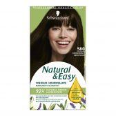 Schwarzkopf Natural & easy dark brown 580 hair color