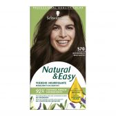 Schwarzkopf Natural & easy middle brown 570 hair color