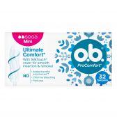 OB Pro comfort mini tampons large