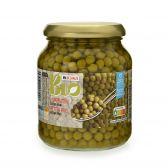 Delhaize Organic extra fine green peas