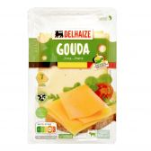 Delhaize Young Gouda cheese slices small