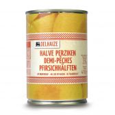 Delhaize Half peaches in syrup