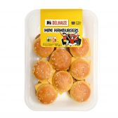 Delhaize Mini beef burgers (at your own risk, no refunds applicable)