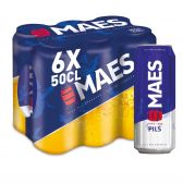 Maes Blond pils bier 6-pack