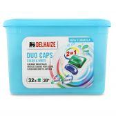 Delhaize Liquid dose color blue