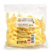 Delhaize Fijne frieten (voor uw eigen risico, geen restitutie mogelijk)