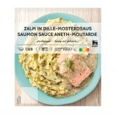 Delhaize Atlantic salmond dill mustard (at your own risk, no refunds applicable)