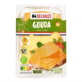 Delhaize Young Gouda cheese slices large