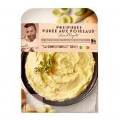 Delhaize Mashed potatoes with leek (at your own risk, no refunds applicable)