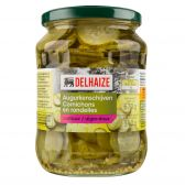Delhaize Sweet sour gherkin slices