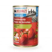Delhaize Tomato pump with basil