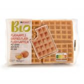 Delhaize Organic egg waffles