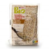 Delhaize Organic multicereal rice waffles