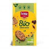 Schar Gluten free organic dark chocolate oat cookies