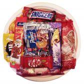 Delhaize Candypack sweets assortment plate of Sinterklaas