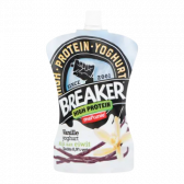 Melkunie Breaker high protein vanille yoghurt (voor uw eigen risico)