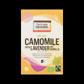 Fair Trade Original Biologische kamille thee met lavendel en vanille
