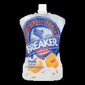 Melkunie Breaker perziken yoghurt (voor uw eigen risico)