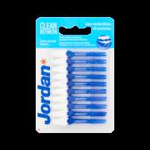 Jordan Clean between regular toothpicks