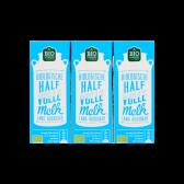 Jumbo Biologische halfvolle melk 3-pack