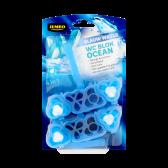 Jumbo Blue water Toilet block ocean