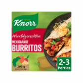 Knorr Mexican burritos world dish