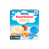 Nestle Kwarkolino peach baby dessert (from 6 months)