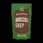 Jumbo Biologische romige broccoli soep met aardappel, spinazie en prei