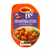 Mora Meatballs in sweet sour sauce (only available within the EU)