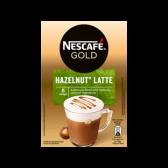 Nescafe Gold hazelnut latte instant coffee