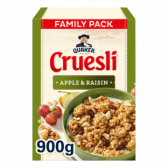 Quaker Cruesli apple and raisins family pack