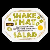 Jumbo Saladedressing met olijven witte kaasblokjes en tuinkruidenolie (alleen beschikbaar binnen Europa)