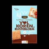 Jumbo Light wholegrain crackers with rice flour