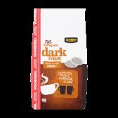 Jumbo Dark roast coffee pods family pack