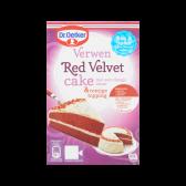 Dr. Oetker Red velvet verwen cake