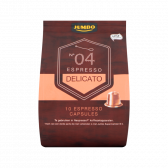 Jumbo Espresso delicato caps no 4