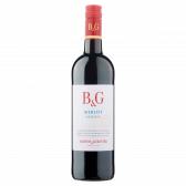 Barton & Guestier Marlot reserve vegan French red wine