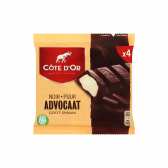 Cote d'Or Dark chocolate with advocat tablets