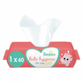 Pampers Hygien on the go wipes for kids