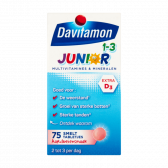 Davitamon Multivitamines and minerals junior melting tabs small (from 1 to 3 years)